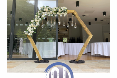 hexagon-arch-way-display-wedding-cermony-wedding-party-hire-in-liverpool-warrington-wirral-widness-cheshire-lancashire-and-north-wales.