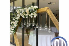 hexagon-rustic-wedding-day-floral-display-wedding-party-hire-in-liverpool-warrington-wirral-widness-cheshire-lancashire-and-north-wales.