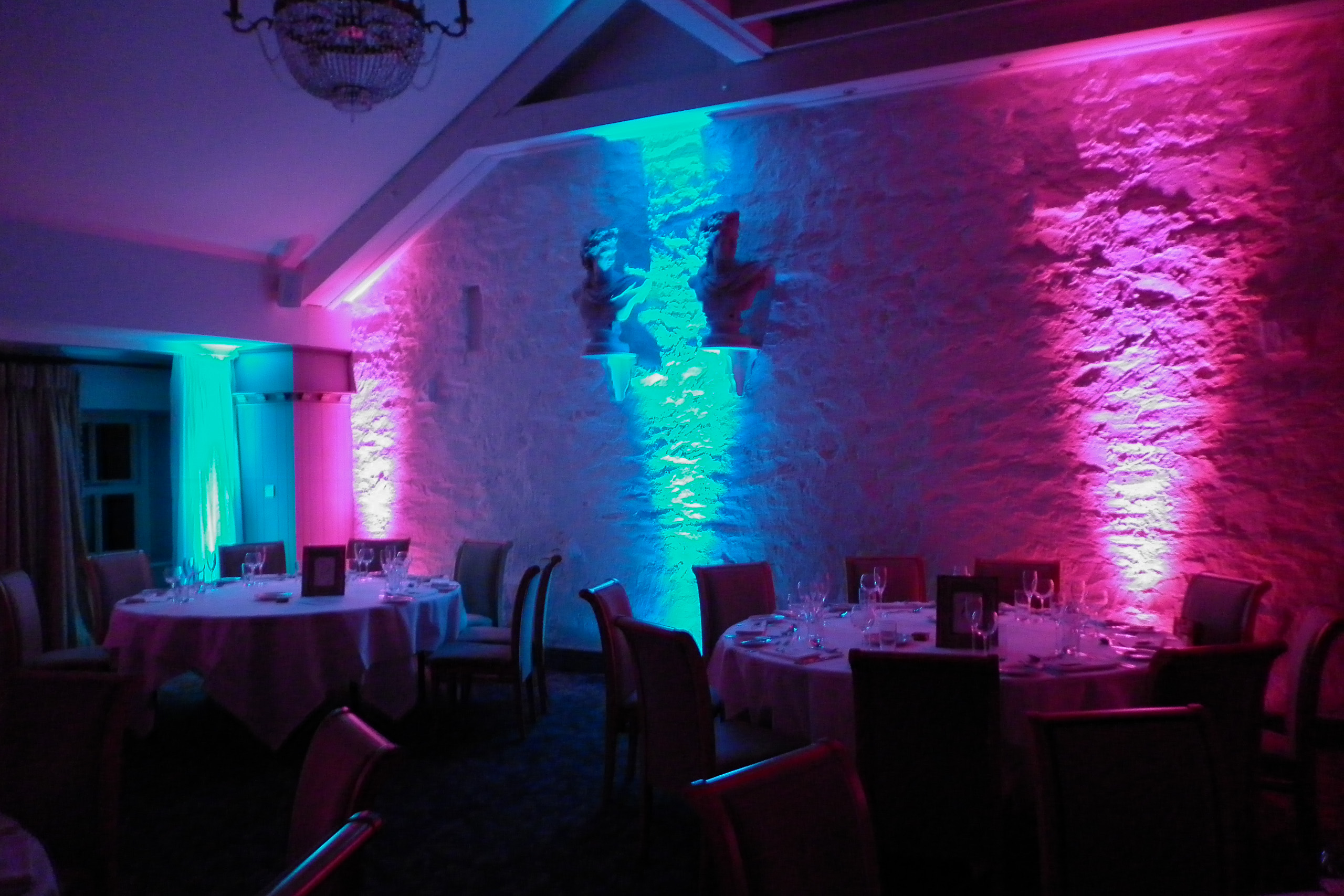 Venue Up Lighting Hire In Liverpool Ozzy James Parties