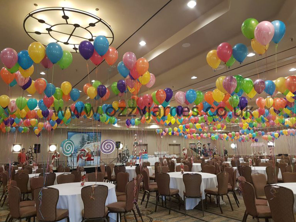 Balloon Packages Liverpool, Kirkby, Aintree