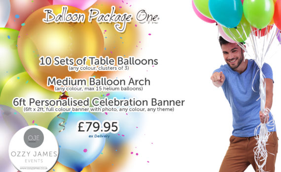 Balloon Decoration Liverpool, Balloon Packages Liverpool, Maghull, Kirkby, Wirral, Bootle - Ozzy James Events