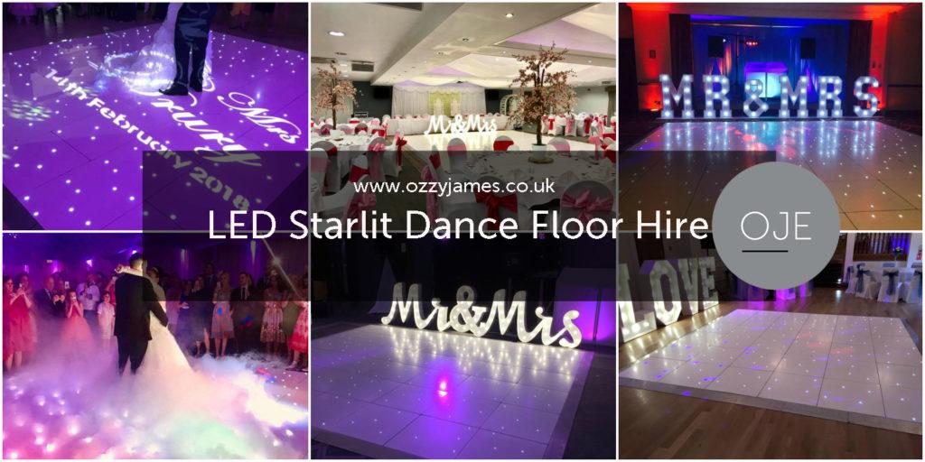 Dance Floor Hire Liverpool - LED Dance Floor Hire Merseyside - Twinkle Dance Floor Hire Liverpool - White LED Dance Floor Hire