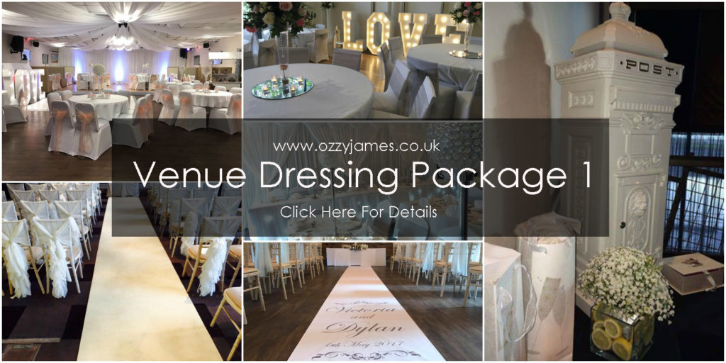 venue dressing package merseyside