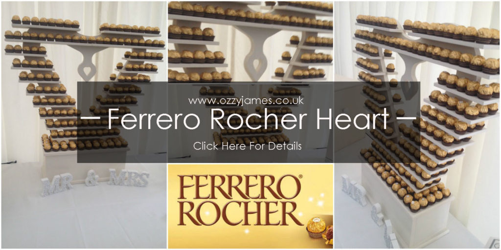 ferrero rocher heart hire