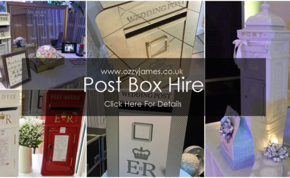 Wedding Post Box Hire Liverpool - Party Post Boxes For Hire Merseyside
