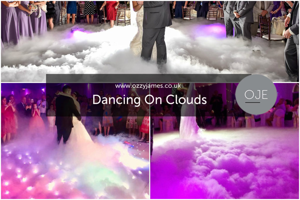 Dancing On Clouds - Wedding Dance Dry Ice Hire - Wedding Party Packages Liverpool
