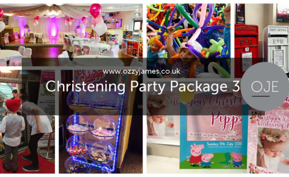 Christening Party Hire Liverpool - Christening Party Packages Northwest