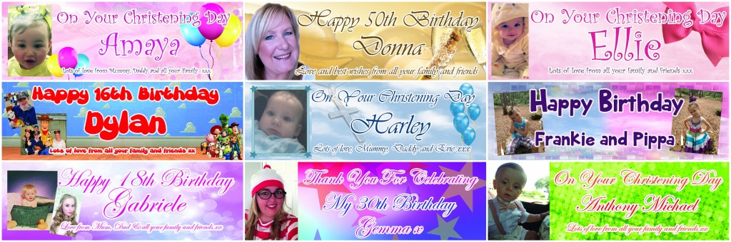 personalised party banners in liverpool