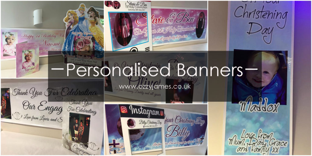 personalised party banners