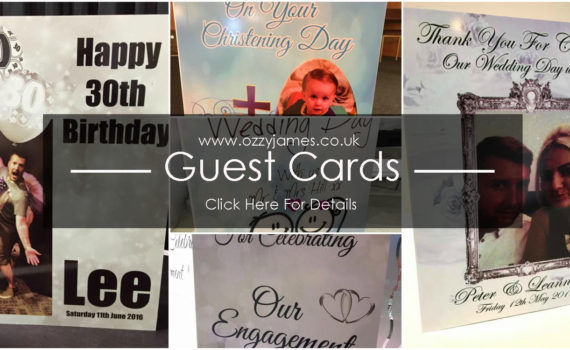 personalised guest cards