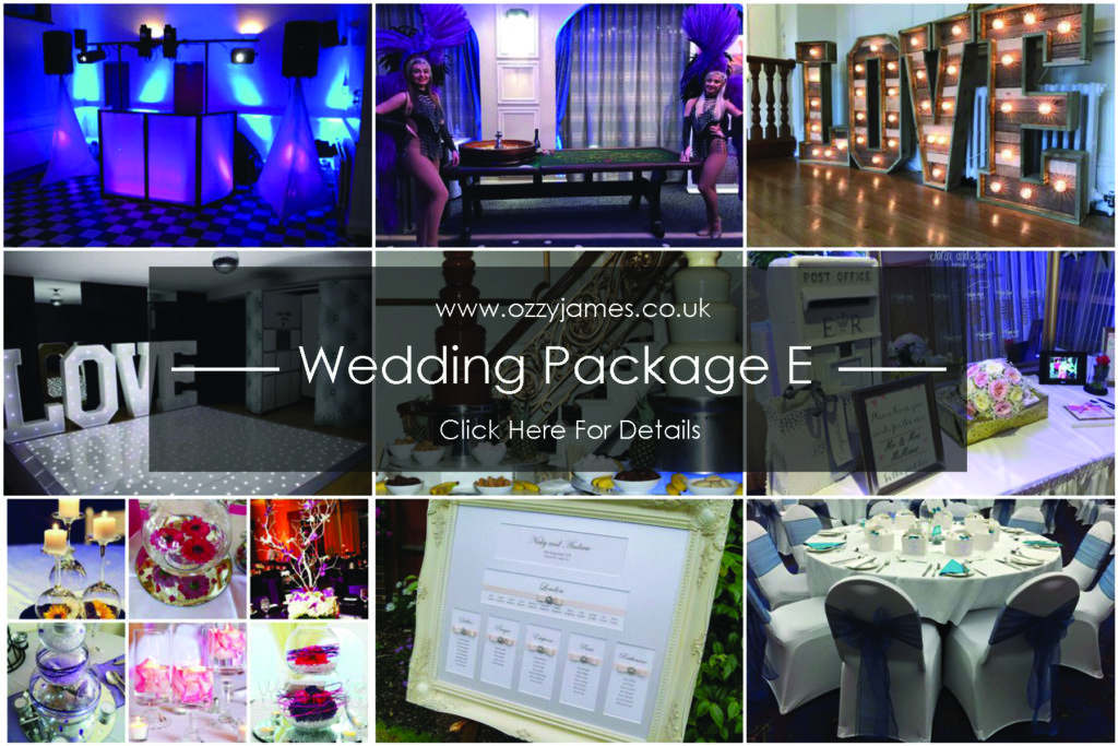 Wedding Packages Cheshire