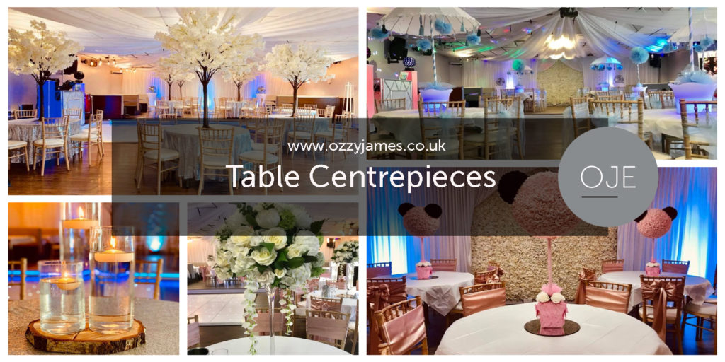 Table Centrepiece Hire Northwest - Table Centrepiece Hire Liverpool