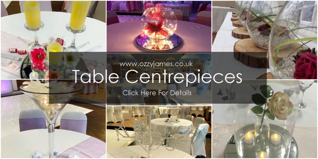 table centrepiece hire merseyside