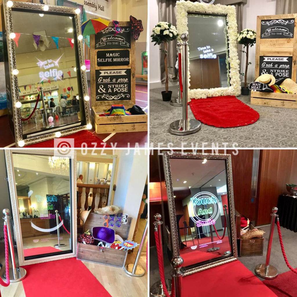 Magic Selfie Mirror Hire, Liverpool, Cheshire - Magic Photo Mirror Hire