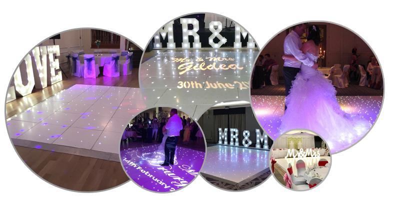 LED Dance Floor Hire Liverpool - Wedding Dance Floor Hire Cheshire - Ozzy James Events