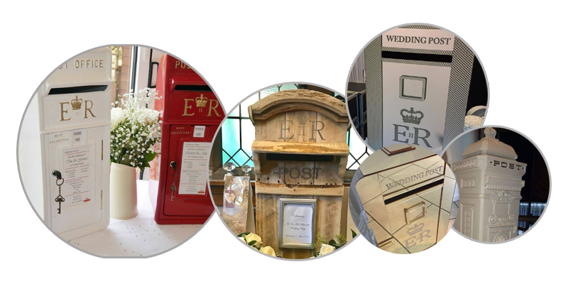 Party Post Box Hire Liverpool - Wedding Post Box Hire - Ozzy James Events