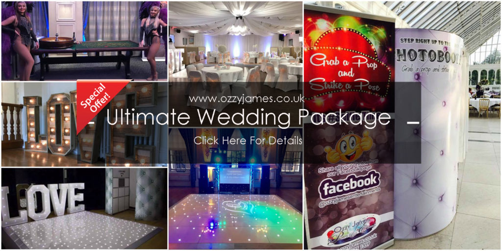 discount wedding party packages