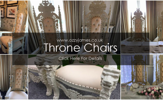 throne chair hire