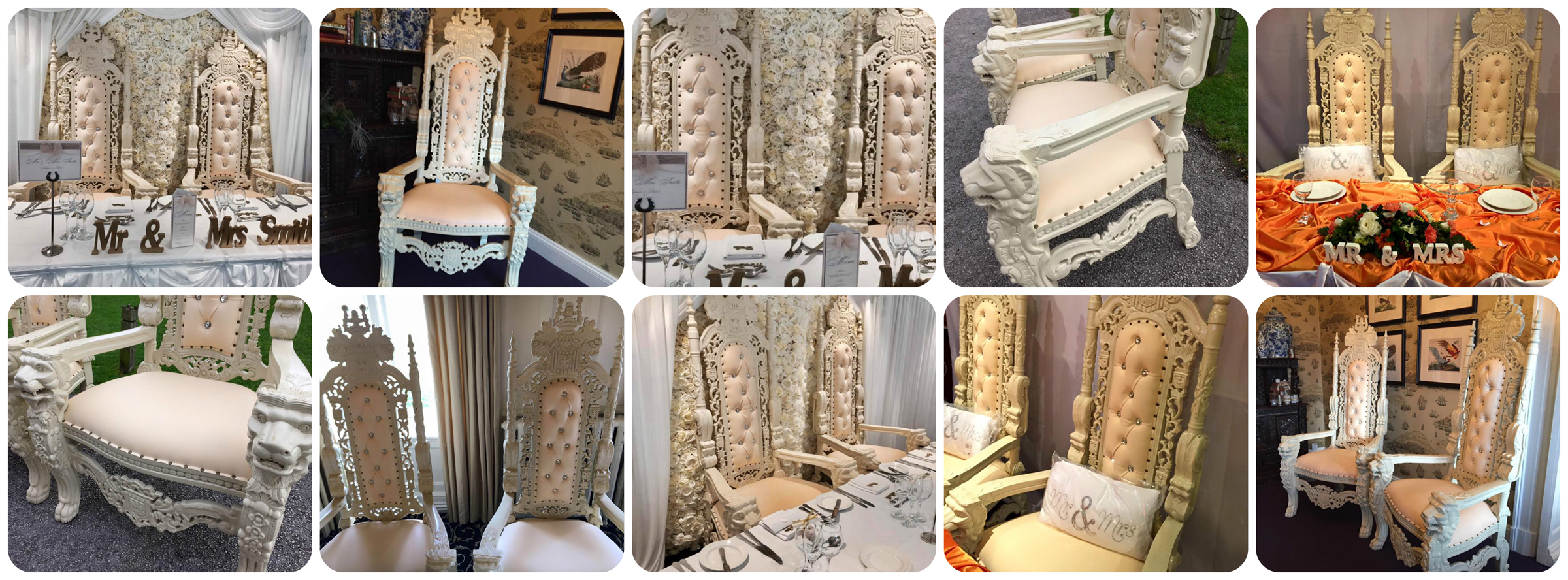 Wedding throne chair hire northwest liverpool manchester cheshire
