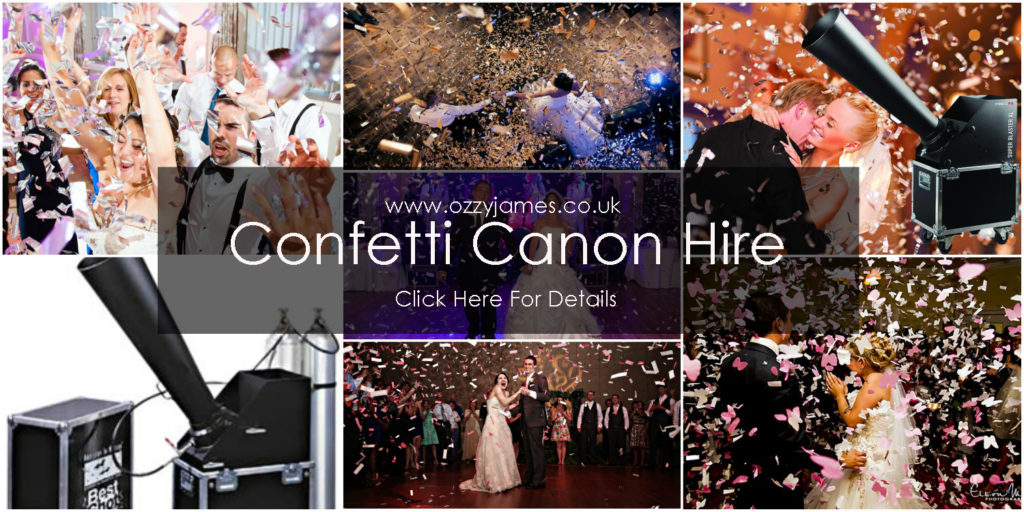 confetti canon hire loverpool