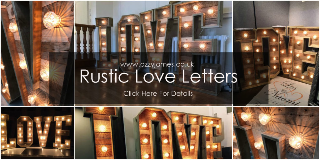 Rustic Love Letters For Hire