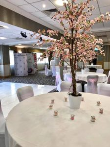 wedding blossom trees for hire
