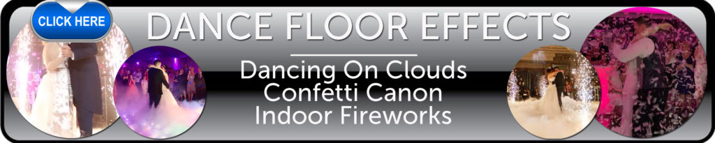 Dancing On Clouds - Confetti Canon Hire - Indoor Dance Floor Fireworks - Ozzy James Events