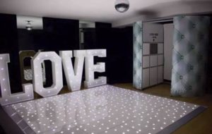 dance floor hire warrington