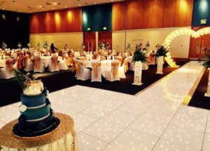 dance floor hire flintshire