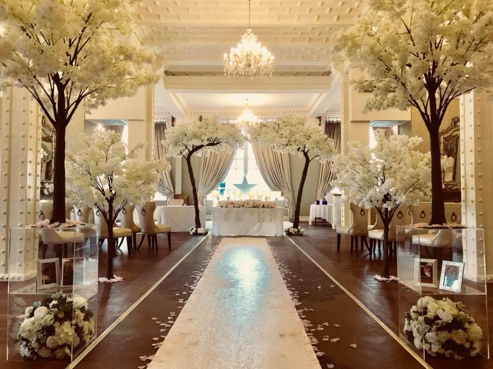 blossom tree canopy arch hire liverpool, merseyside, cheshire - Blossom Tree Table Centrepiece Hire - Blossom Tree Hire Cheshire