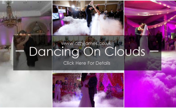 dancing on clouds dry ice hire