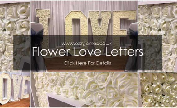 flower love letter hire