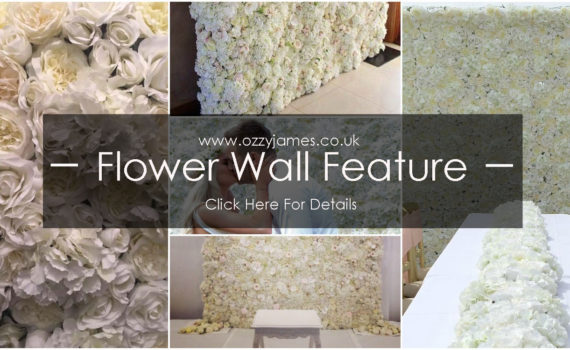 flower wall hire liverpool