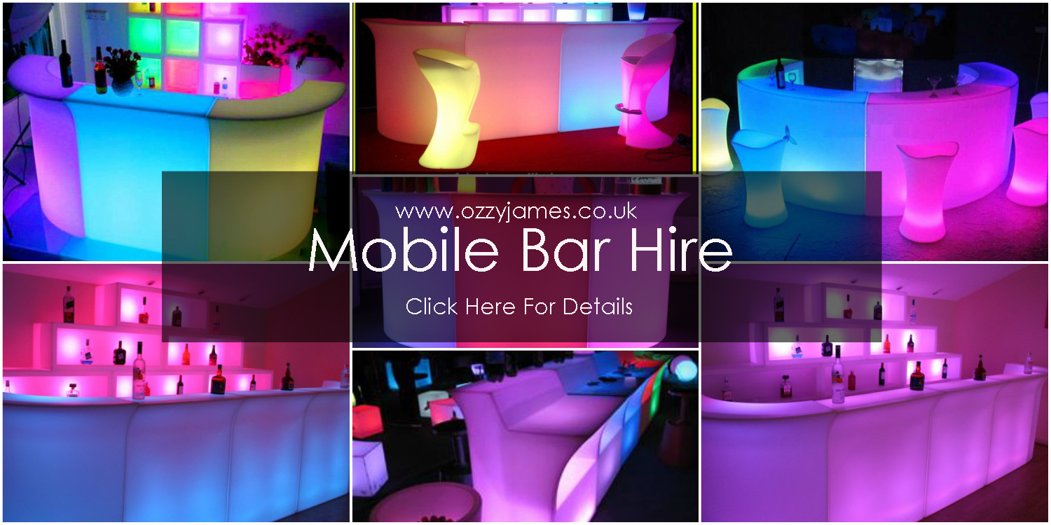 Mobile Bar Hire Liverpool Northwest Ozzy James Parties
