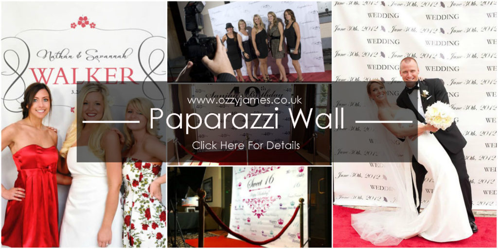 personalised paparazzi wall