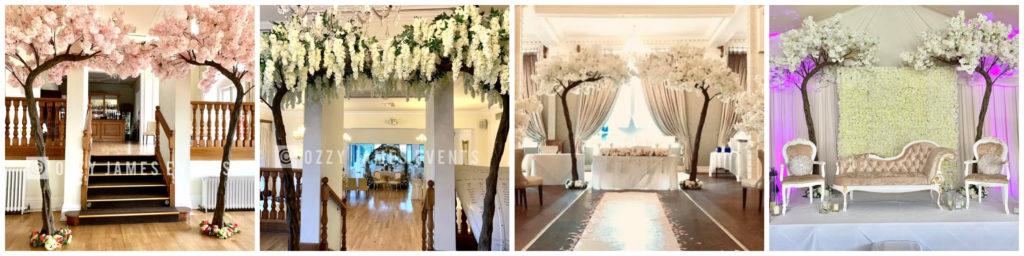 10ft Wedding Blossom Tree Arch Hire - Artificial Blossom Tree Hire