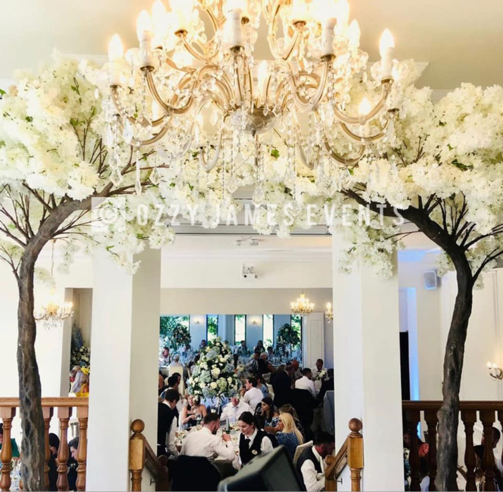 10ft Wedding Blossom Tree Arch Hire - Artificial Blossom Tree Hire