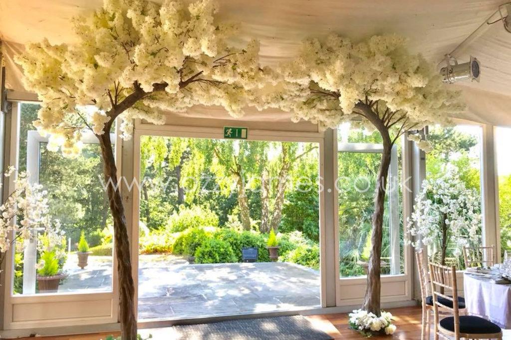 blossom tree arch hire