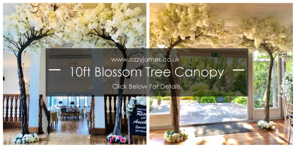 blossom tree canopy hire blossom tree arch hire