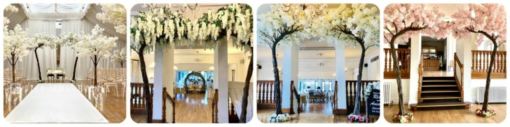 Blossom Arch Canopy Tree Hire, Liverpool, Wirral, Warrington, Widnes, Cheshire, Lancashire - Ozzy James Events