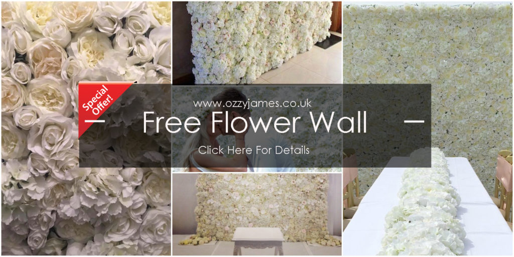 cheap flower wall hire liverpool
