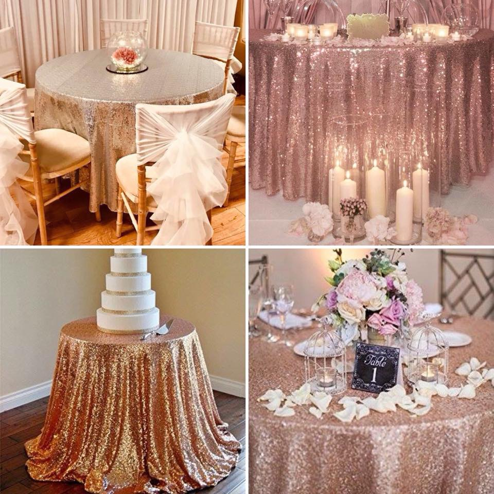 sequin table cloth hire merseyside