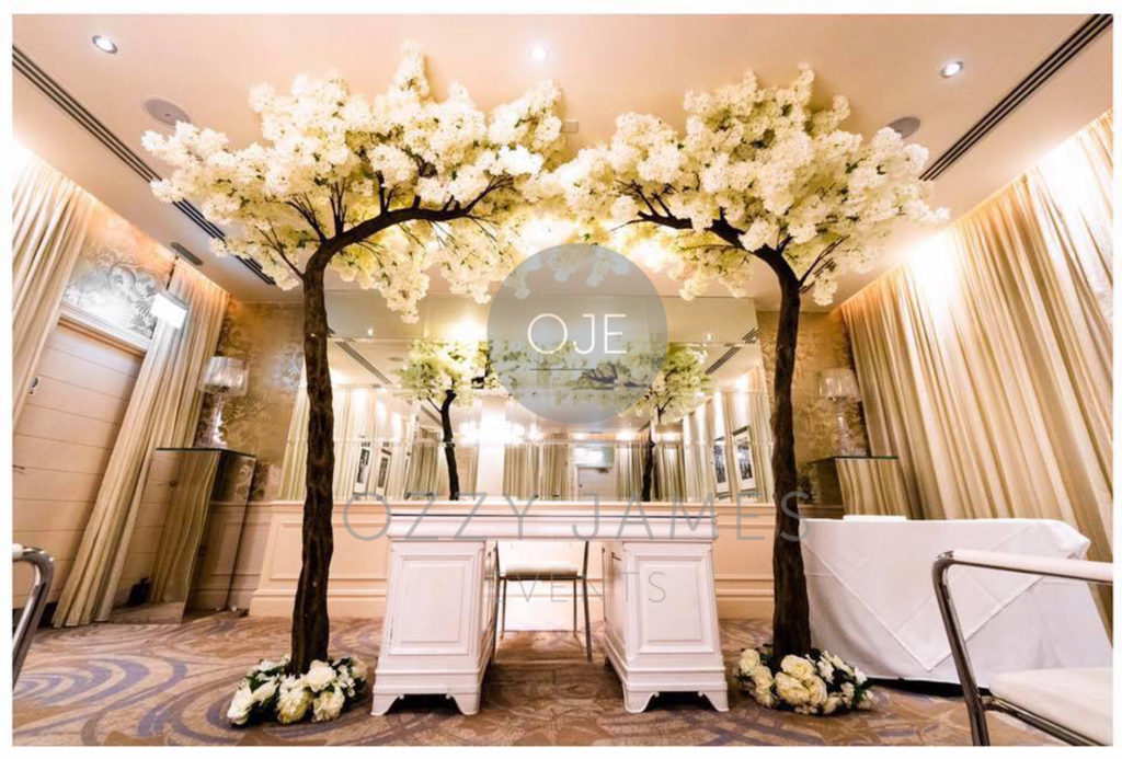 Blossom Canopy Tree Hire Liverpool, Wedding Ceremony Blossom Tree Hire Cheshire, Blossom Tree Arch Hire