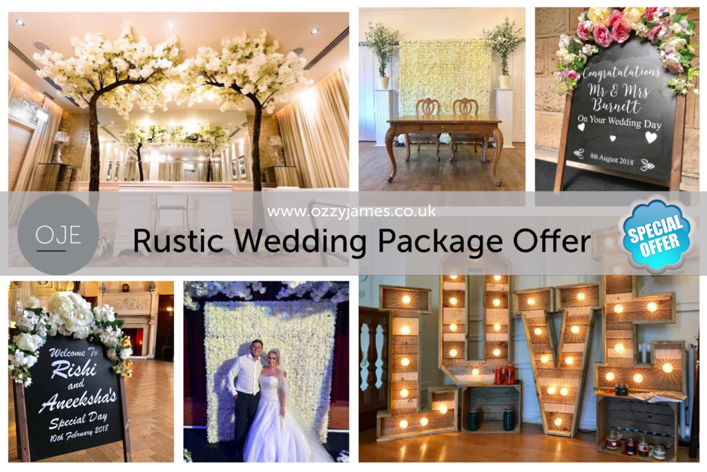 Rustic Wedding Ceremony Package Cheshire - Rustic Wedding Package Merseyside - Rustic Wedding Package Liverpool