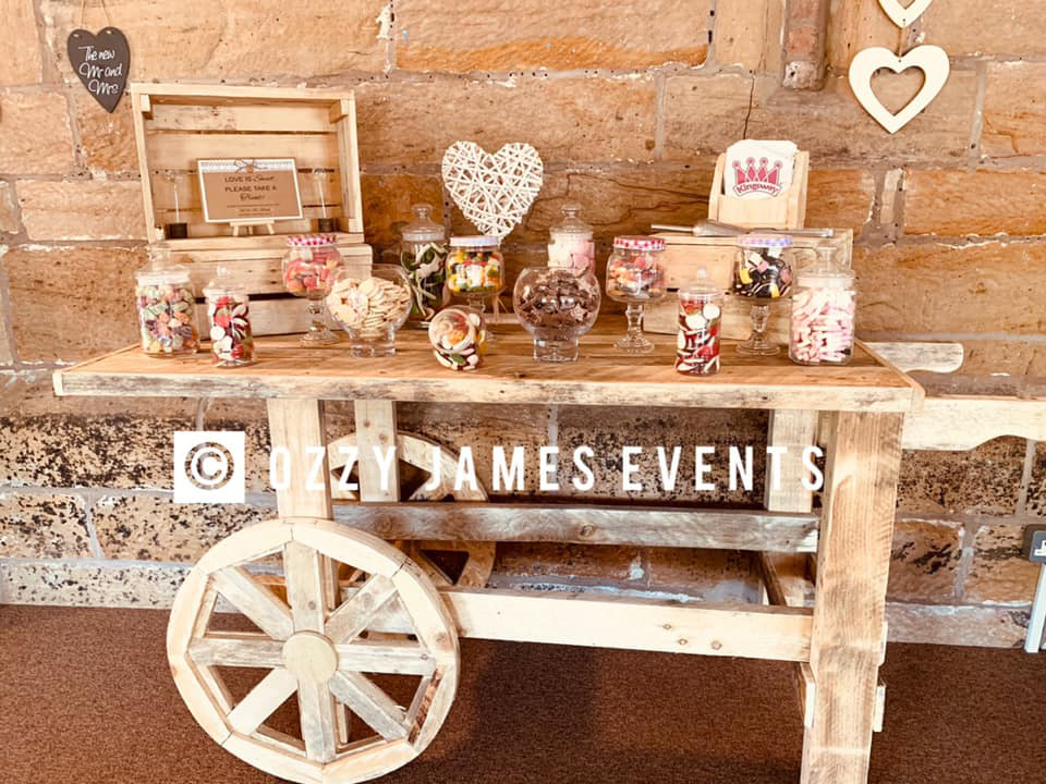 Vintage Cart Hire, Rustic Wedding Hire - Ozzy James Parties & Events