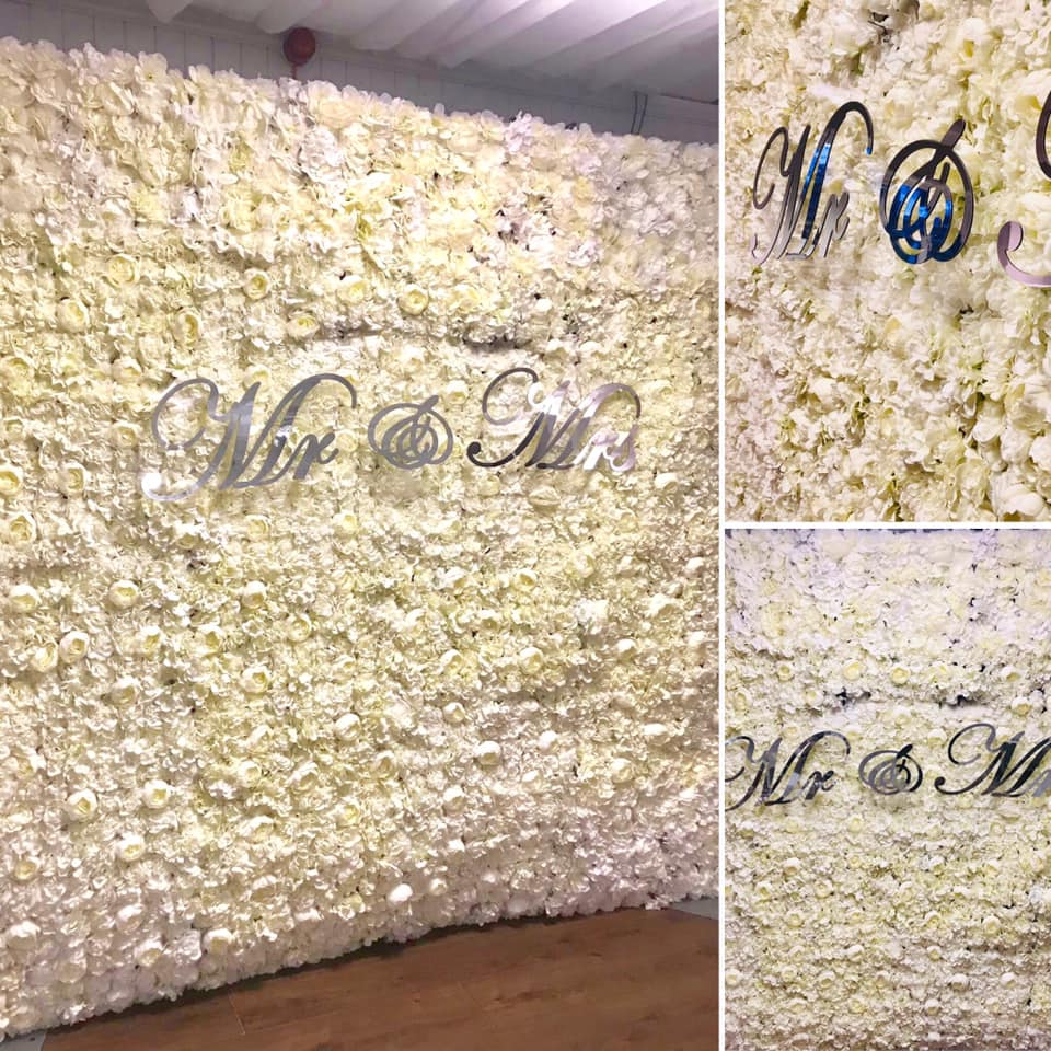 Flower Wall Hire Liverpool , Cheshire - Flower Wall Hire Merseyside