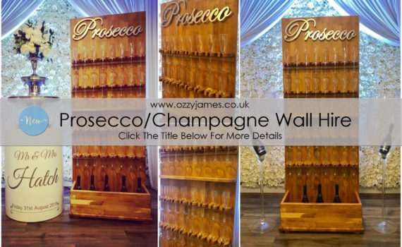 prosecco wall champagne wall chamoagne fountain hire Liverpool Northwest Cheshire Wirral