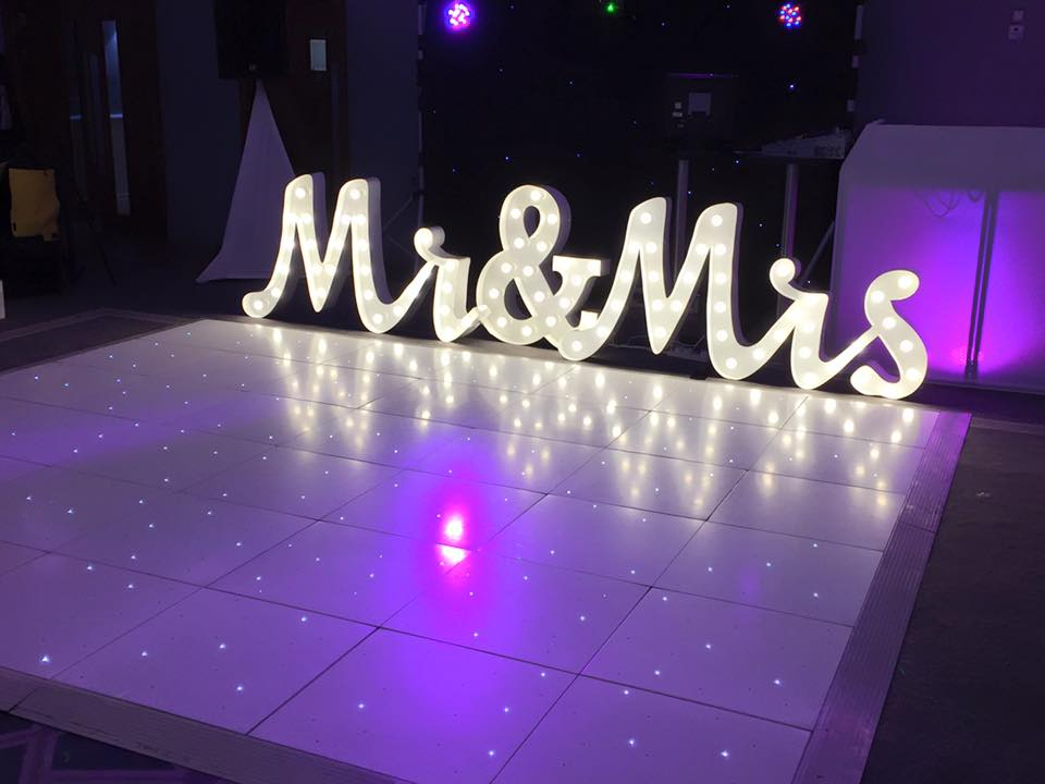 LED Starlit Dance Floor Hire Merseyside - Dance Floor Hire Wirral