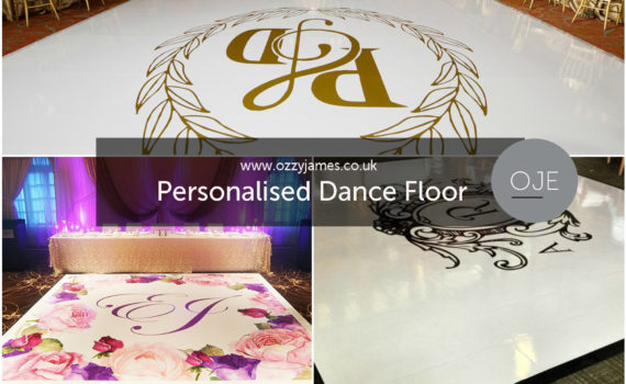 Personalised Printed Dance Floor Hire Liverpool Manchester Cheshire