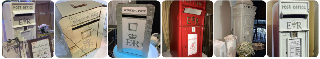 Wedding Party Post Box Hire Liverpool, Widnes, Wirral, Warrington, Wirral, Cheshire - Ozzy James Events